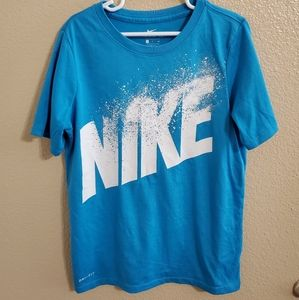 Nike Dri Fit Boys Shirt Size Small